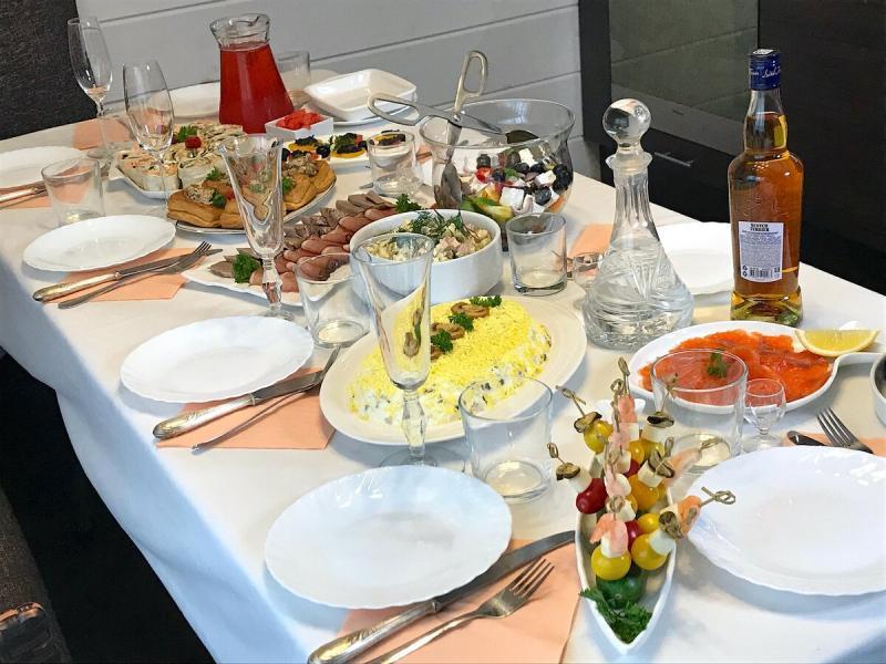 Праздничный стол(горячее и десерт, вторая часть)
