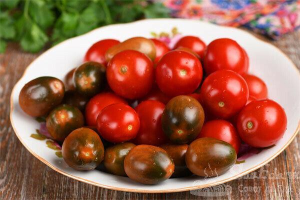 Просто объедение! Малосольные помидоры быстрого приготовления