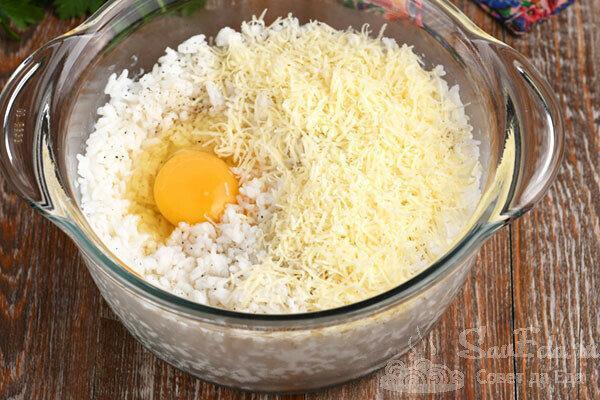 Рисовые зразы с фаршем. Очень сытно и вкусно