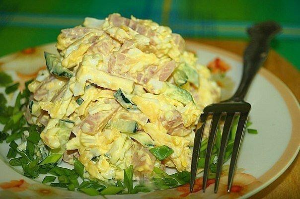 Самые вкусные салаты на скорую руку