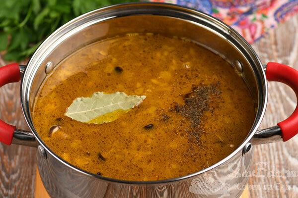 Суп с бисквитными клецками. Это что-то новенькое и очень вкусное!