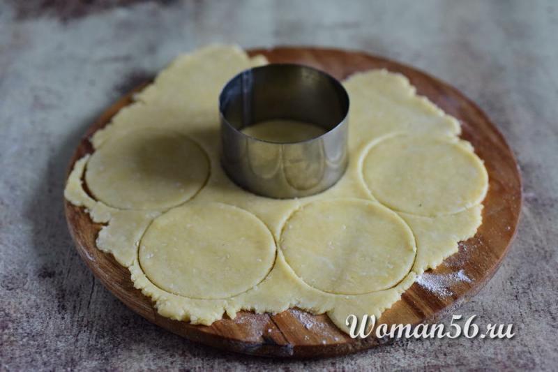 Сырное печенье из плавленных сырков! Вкусно! Много фото!