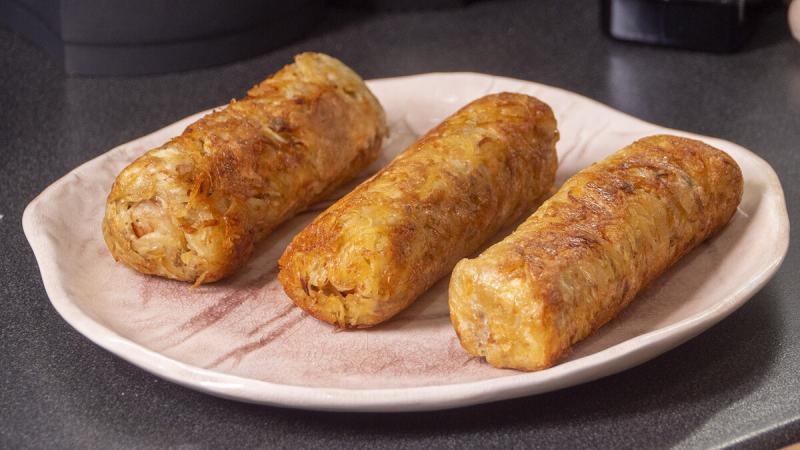 Вас будут просить готовить ещё!!! Жареные Сосиски в картошке