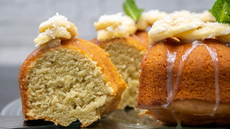 Если есть спелые бананы сразу готовлю сладкий десерт