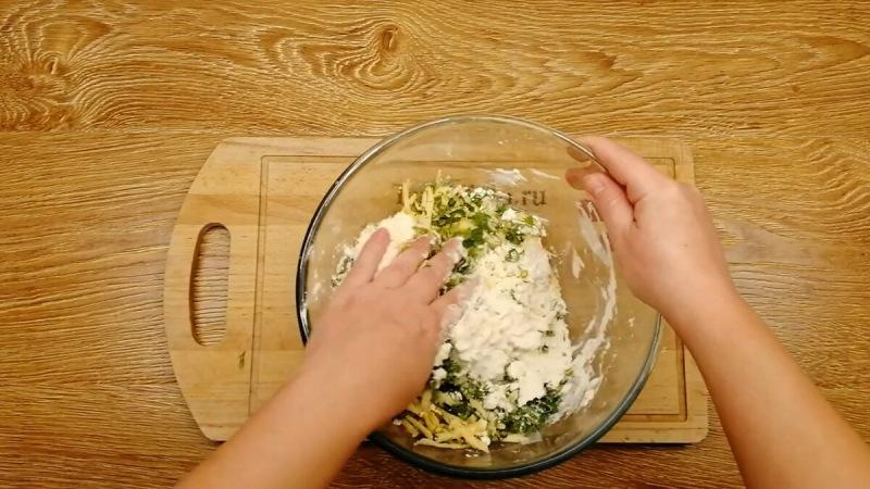 Хачапури на сковороде.
