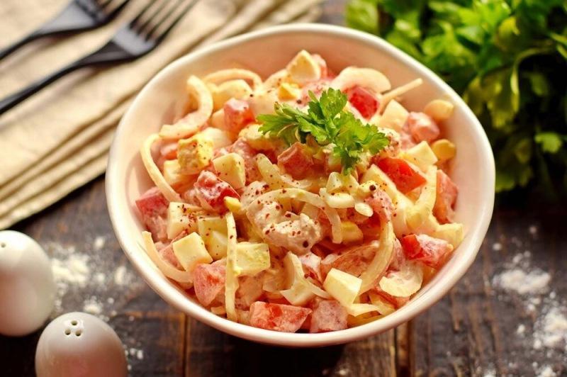 Салат из старого кулинарного журнала - Всего 4 ингредиента