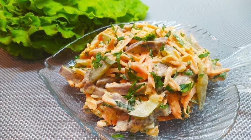 Салат, который готовлю чаще других (ну очень вкусно)