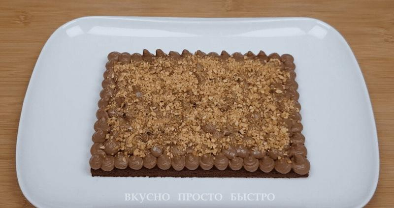 Шоколадный торт без муки и сахара. Бесподобный торт за час