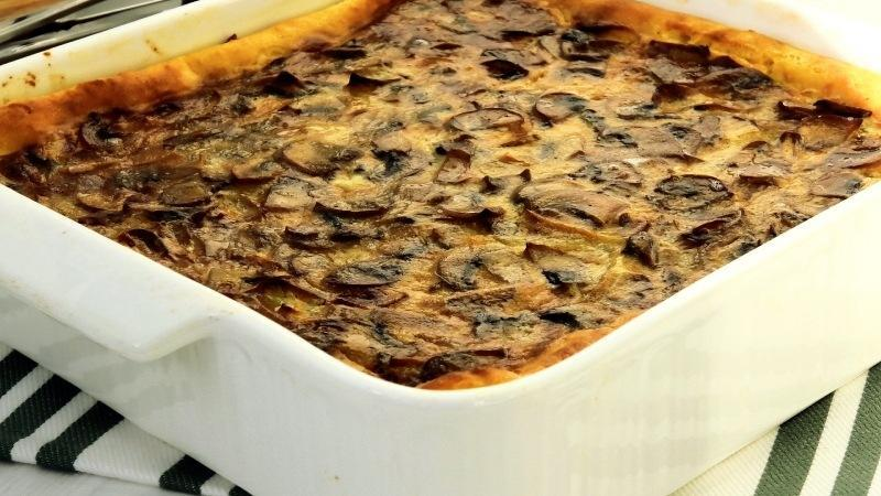 Беру много грибов и готовлю такой необычный тарт!