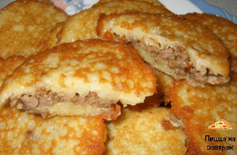 Готовим самые вкусные картофельные ЦЕППЕЛИНЫ с мясом