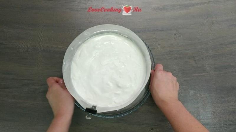 Йогуртовый торт-суфле без выпечки - простой рецепт торта