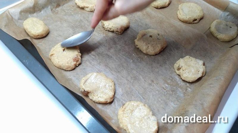 Печенье из овсяных хлопьев – простой и вкусный рецепт