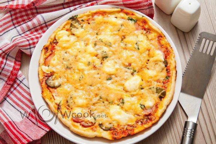 Пицца на сковороде за 10 минут - очень вкусно, быстро и просто