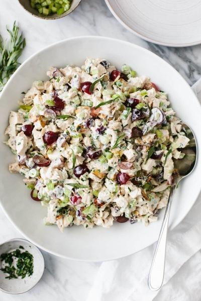 Рецепт салата с курицей / Наш семейный, праздничный вариант