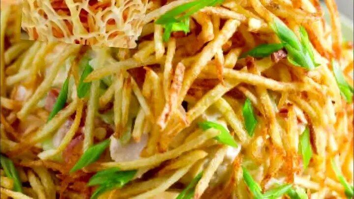 """Салат """"Муравейник"""". Или это не салат а полноценный ужин?..."""