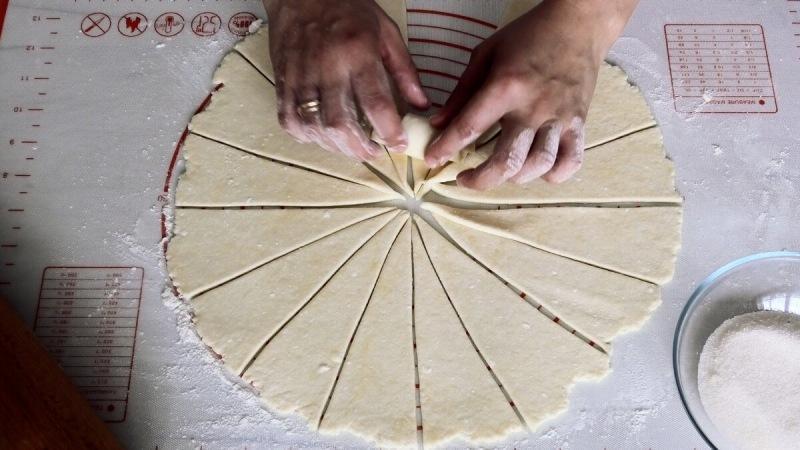 Творожные Рогалики пошаговый рецепт с фото и видео