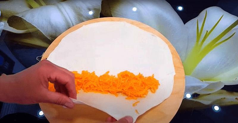 Тыквенный пирог улитка за 10 минут, разлетается мгновенно🍎