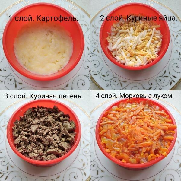 Вкусный и очень сытный мясной салат