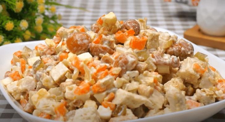5 рецептов легких салатов на новый год — вкусно, быстро, просто
