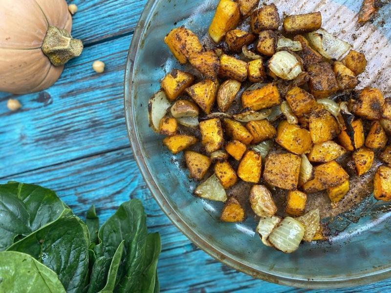 Масала хумус с тыквой
