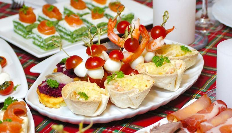 Мой праздничный стол без салатов(несколько вкусных рецептов)