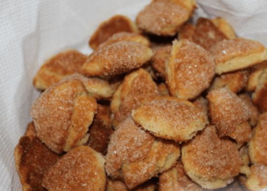 Очень вкусное домашнее творожное печенье