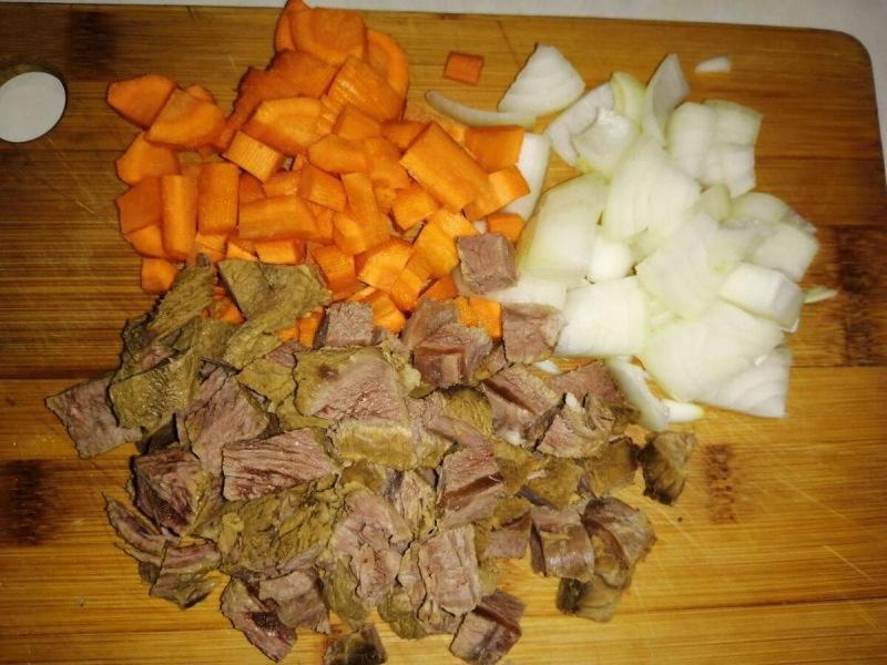 Овощное рагу с гречкой и говядиной для битвы шефов