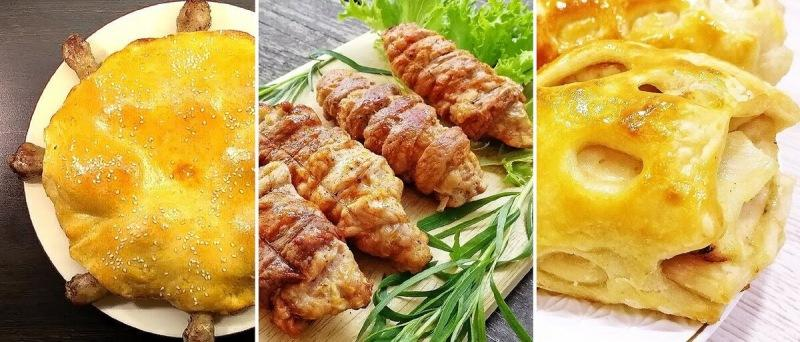 Три необычных рецепта с курицей на праздничный стол.