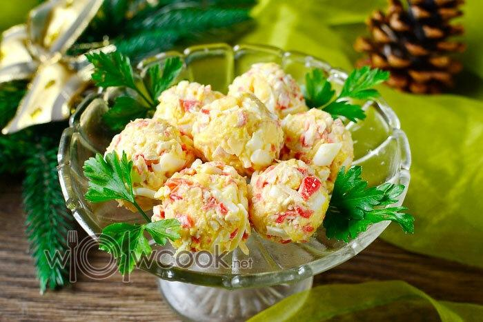 Закуски из крабовых палочек на новогодний стол, топ 7 рецептов