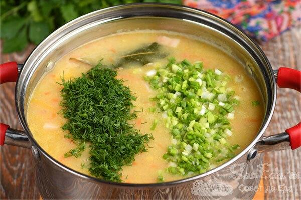 Гороховый суп из обычного гороха за 35 минут (рецепт с фото)
