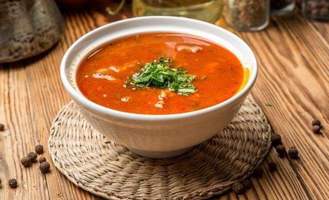 Харчо, суп в таком исполнении, всем очень нравится.