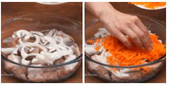 Хек запеченный с овощами. Быстрый ужин для всей семьи