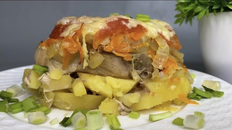 Идеальный ужин из картофеля и мяса: сытно и очень вкусно