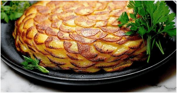 Картофель на французский манер, по рецепту от от шефа.