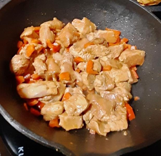 Рецепт от Скизи. Курица в кисло-сладком соусе.