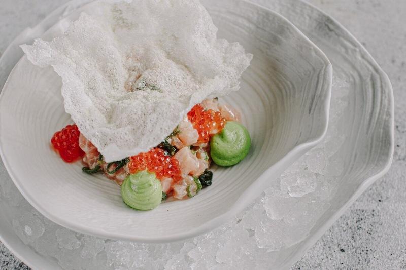 Тартар из лосося: простейший рецепт из ресторана Yura