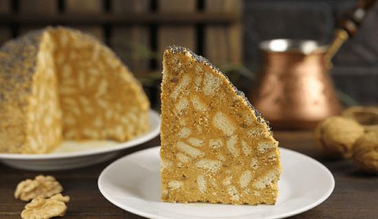 Торт «Муравейник» из печенья со сгущенкой без выпечки