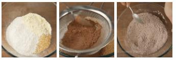 Быстрое Шоколадное ПЕЧЕНЬЕ с кунжутом. Легкий рецепт