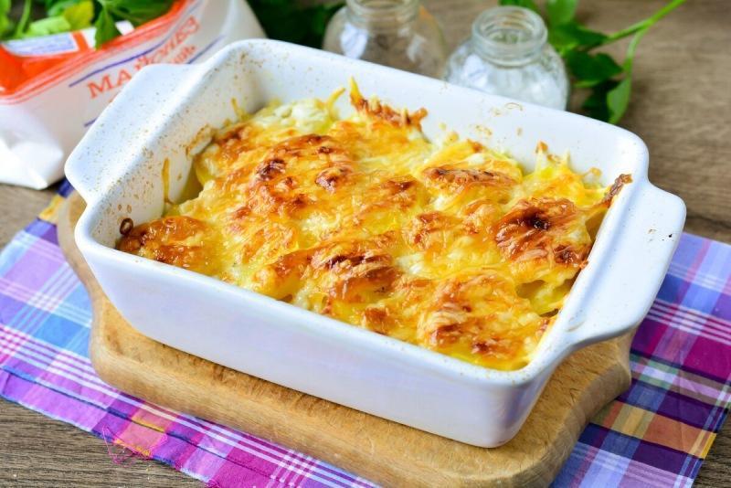 Картофель по-французски без мяса - интересный и вкусный рецепт