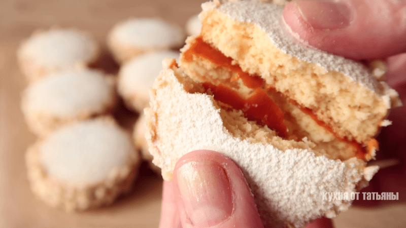 Нежное, воздушное печенье со сгущенкой! Быстрый рецепт!