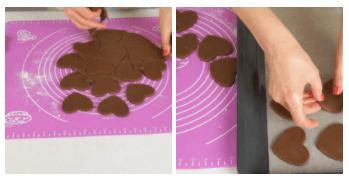 Печенье СЕРДЕЧКИ в Шоколаде