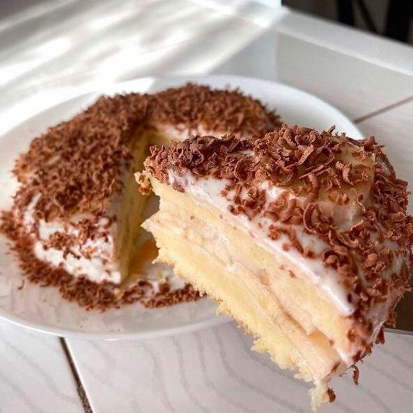 Торт без заморочек.