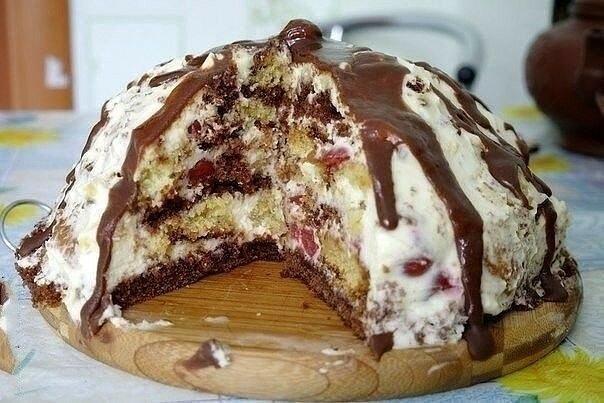 """Торт """"Панчо"""" - упрощенная версия знаменитого десерта"""