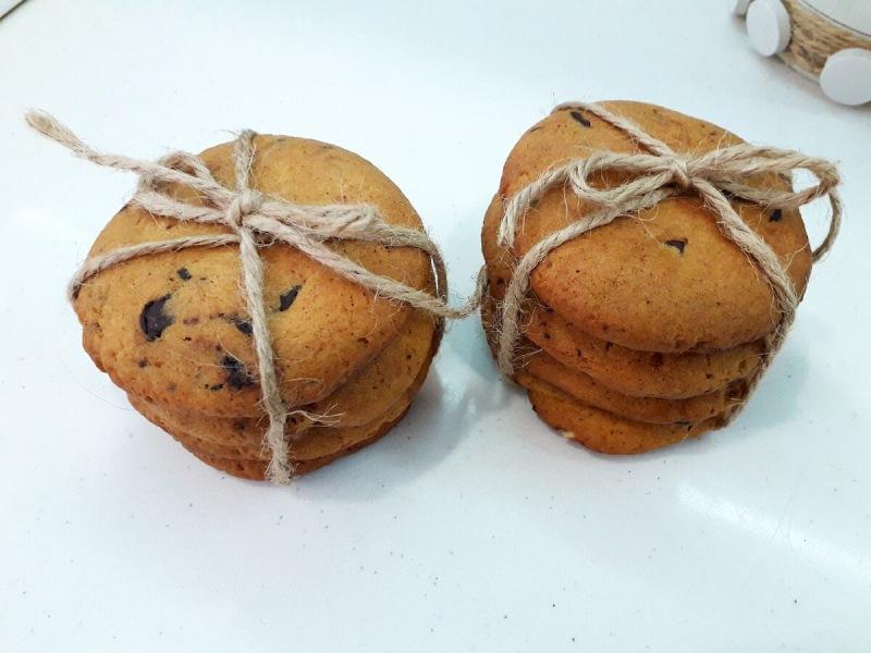 Вкуснейшее тыквенное печенье