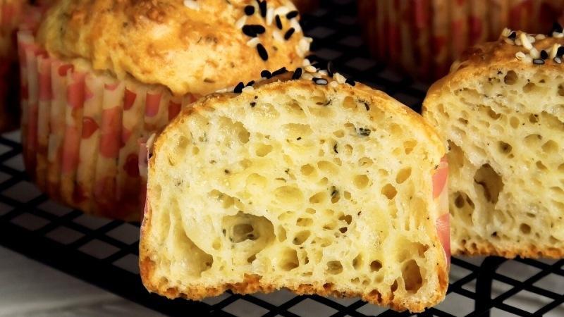 Закусочные кексики с сыром Вкусно и легко!