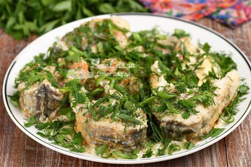 Жареная рыба в сметане (рецепт с фото)