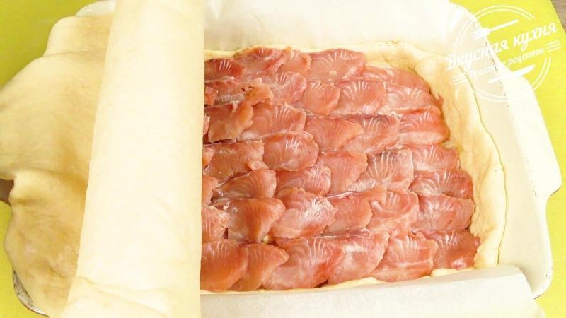 Готовлю рыбный пирог. Вкусный, сытный, ароматный
