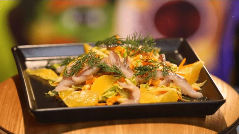 Как использовать апельсины в салатах? Делимся рецептами