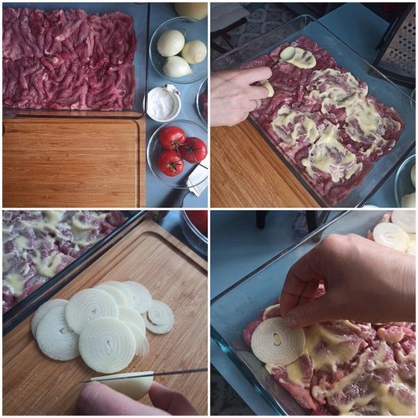 Как приготовить свинину по-французски.