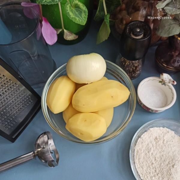 Картофельные драники. Простой рецепт.
